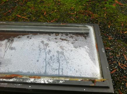 Leaking Skylight was replaced after a call Duncan, B.C.